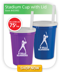 Stadium Cup with Lid - as low as 75¢