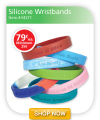 Silicone Wristbands - 79¢