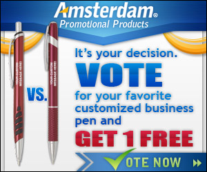Vote for Your Favorite Personalized Pen