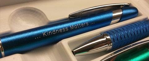 Engraved Pen - Kindness Matters