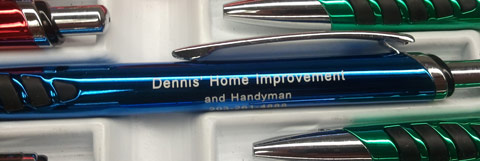 Personalized pens are definitely not for big brands only!