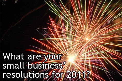What are your small business resolutions for 2011?