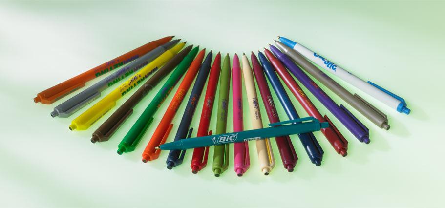 BIC promotional pens