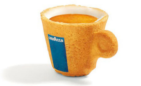 Edible LavAzza mug