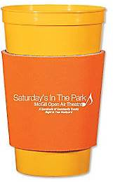 Koozie cup sleeve with imprint