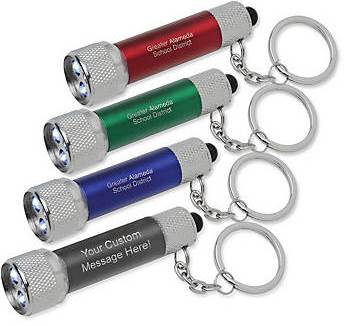 flashlight keychains with imprint