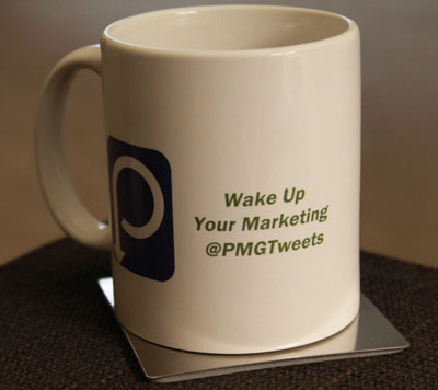 Custom mugs with Twitter nadle