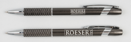 laser engraved pens with super-sized imprint area