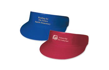 cotton twill golf visor