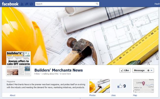 Builders Merchants News Facebook Cover / Timeline