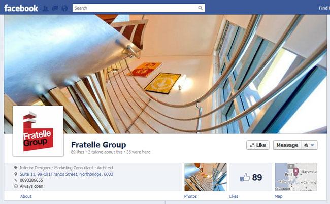 Fratelle Group Facebook Cover / Timeline