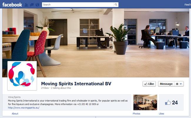 Moving Spirits International BV Facebook Cover / Timeline