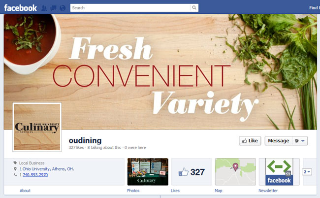 OUDining Facebook Cover