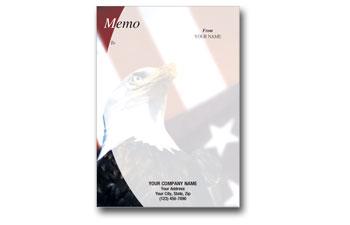 patriotic memo pads