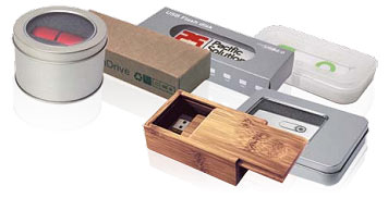 Gift boxes for Custom USB drives