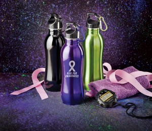 "Breast Cancer ""Run for Awareness"" Bottles"