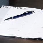 Open September Calendars with a Pen