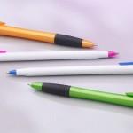 Arranged roller-ball pens
