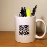 Promo Mugs with QR Code
