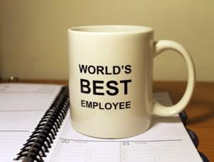 World's Best Employee mug