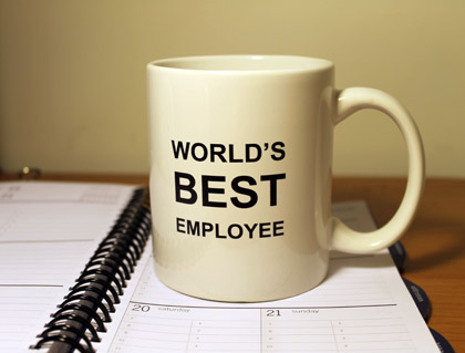 World's Best Employee mug