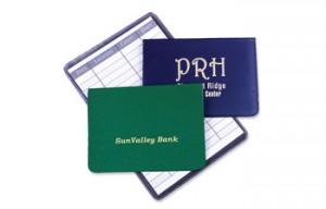ATM Debit Card Holder with Register