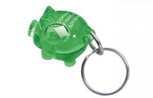 Custom Piggy Keychains