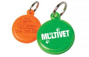 reflective pet ID tags