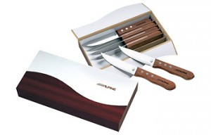 custom steak knife set