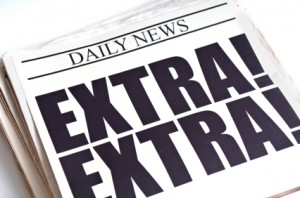 Image result for newspaper extra