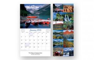 custom wall calendar scenes