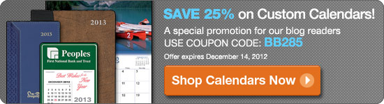Save 25% on Custom Calendars!