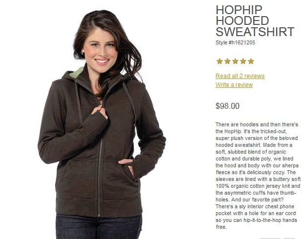 horny toad clothing - hoodie copy