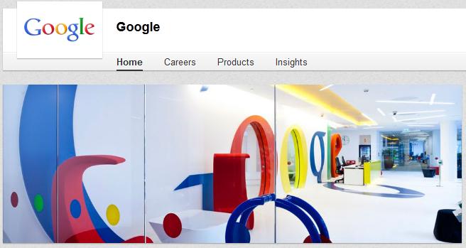 google on linkedin