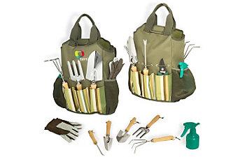 green thumb gardening bag