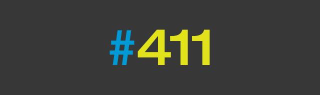 411 on Twitter Hashtags