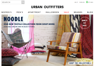 marketing case study: urban ouftitters