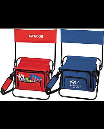 custom cooler folding chair