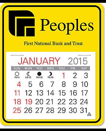 easy stick calendar