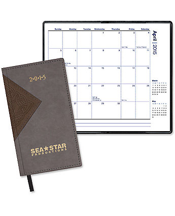 quest monthly pocket calendar
