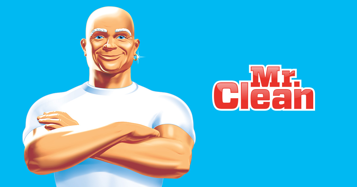company mascot mr clean