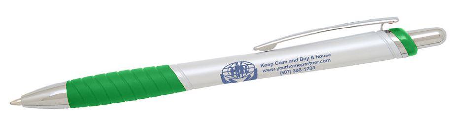 real estate slogan on pen