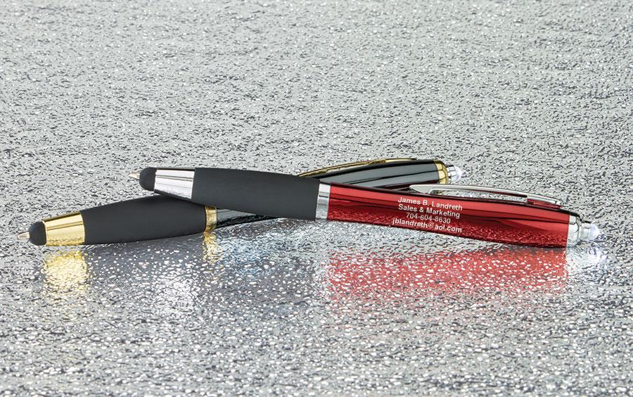 boardroom silver stylus penlight