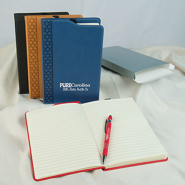 journal book with pen