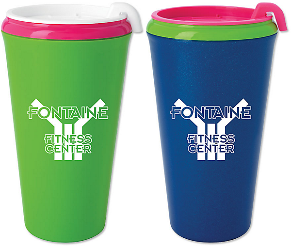 tumblers with bright color options
